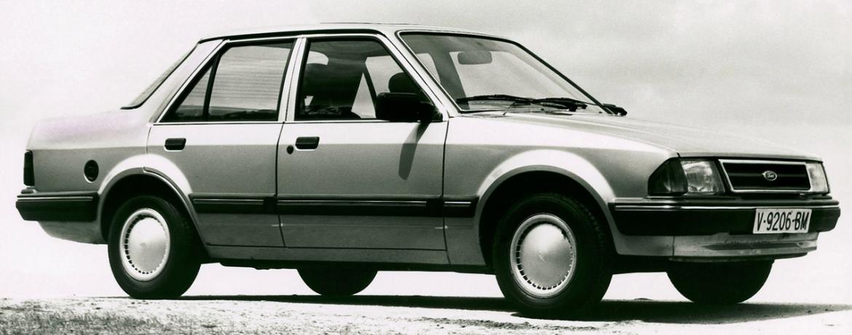 Ford Orion Mk1. Ford 30º Aniversario Factoria Almussafes