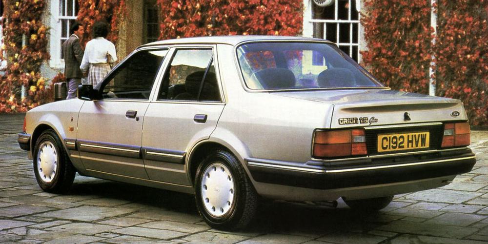 Ford Orion Mk1. Foto: Catálogo Ford