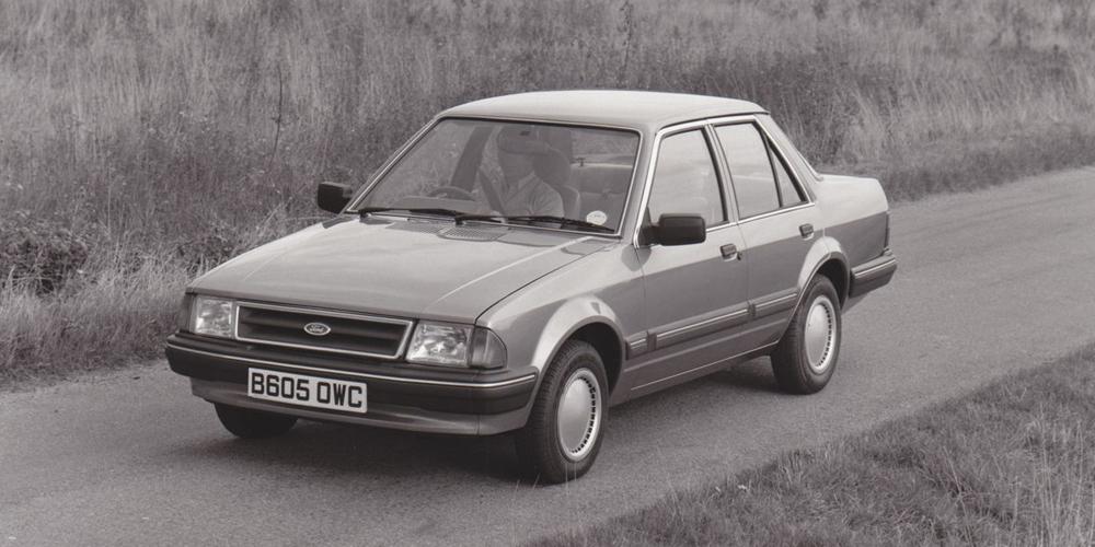 Ford Orion Mk1 GL. Foto: Prensa Ford