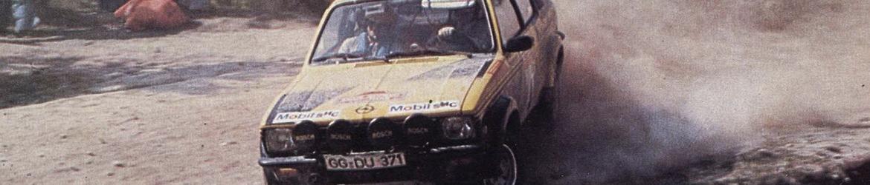 WRC 1975, Röhrl en el Rallye de Sanremo, Foto: Italia, dominio público
