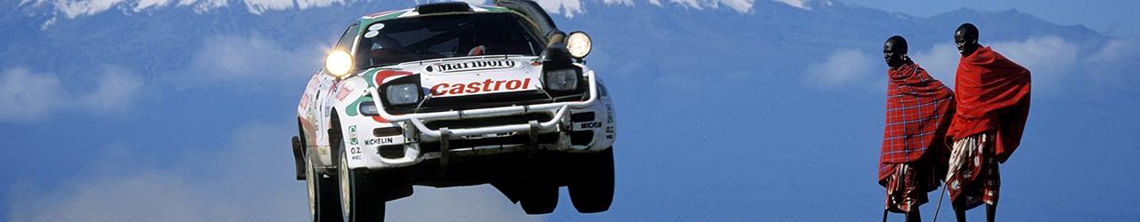 WRC 1993. Safari de Kenia. Foto: Toyota