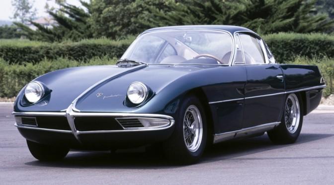 """<span class=""""entry-title-primary"""">Lamborghini 350 GTV, 1963</span> <span class=""""entry-subtitle"""">Prototipo de Coupé de 2 puertas obra de Franco Scaglione</span>"""