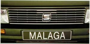 SEAT Málaga. Foto de catálogo SEAT