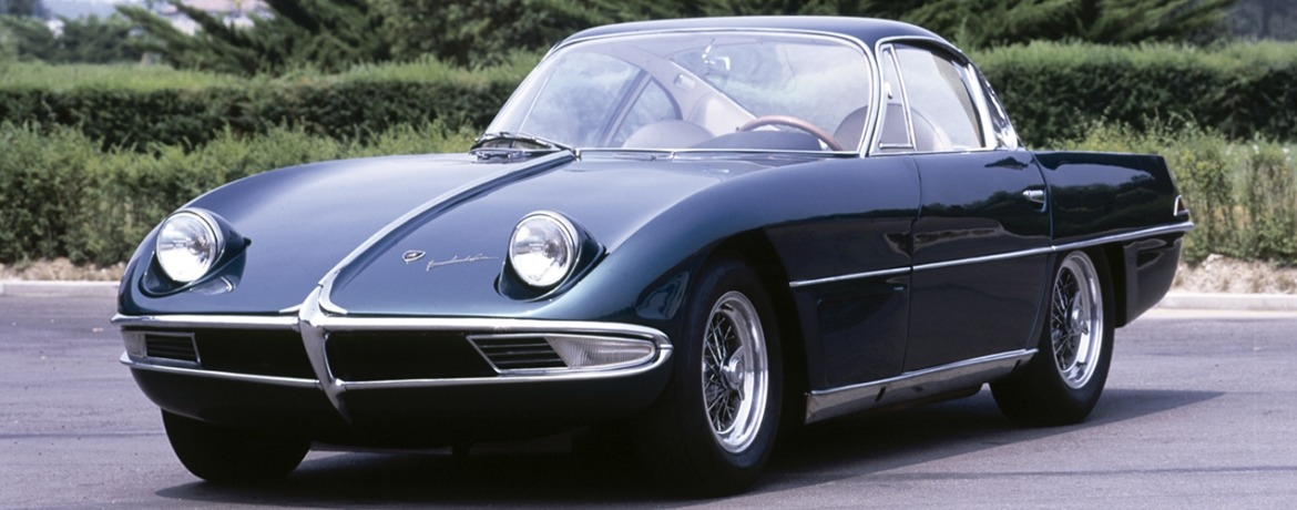Lamborghini 350 GTV, © Automobili Lamborghini Holding S.p.A. All rights reserved