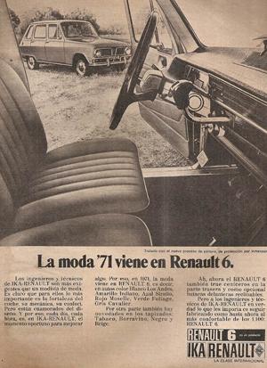 Renault 6, Foto: Renault promoción Argentina