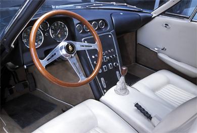 Interior del prototipo, © Automobili Lamborghini Holding S.p.A. All rights reserved