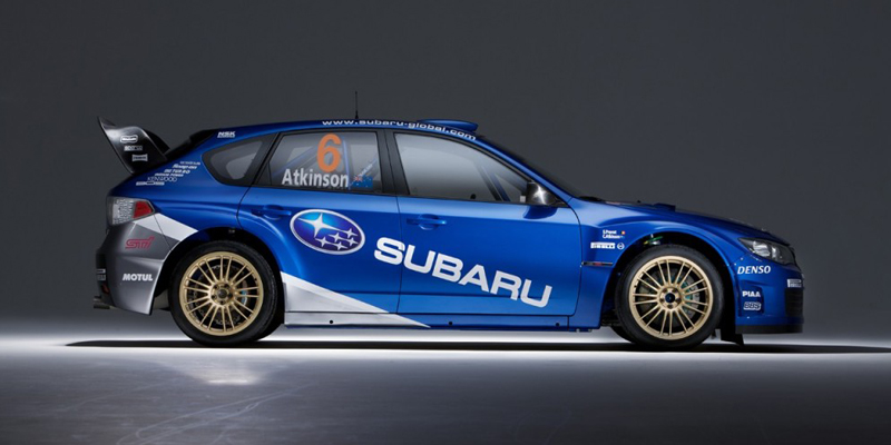 Subaru Impreza WRC2008, Foto: Subaru
