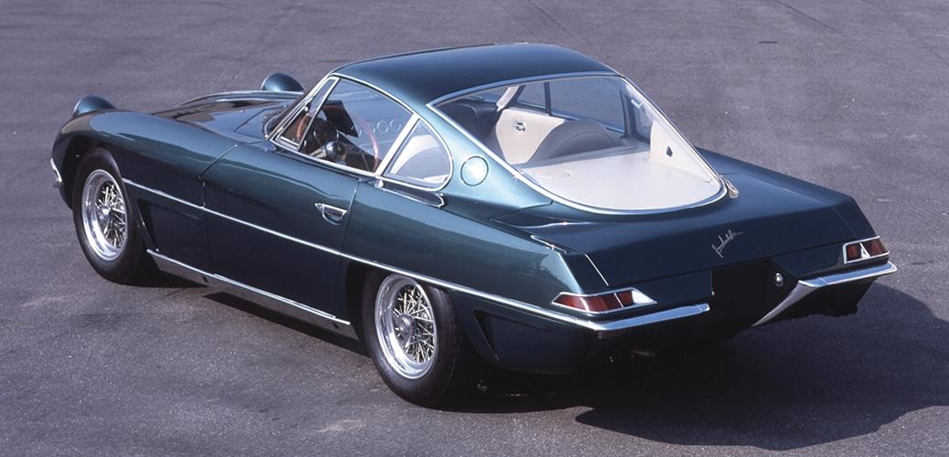 Lamborghini 350 GTV, © Automobili Lamborghini Holding S.p.A. All rights reserved