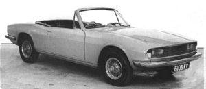 Prototipo Triumph Stag Giovanni Michelotti