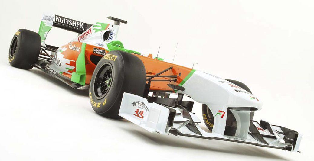 Force India VJM04. Foto: Force india