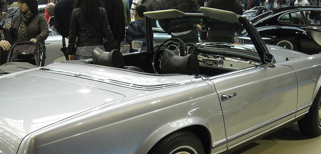 Foto: Magarico. Retro Auto Santiago de Compostela, Febrero 2011