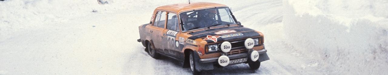 WRC 1977, Salvador Canellas en el Rally de Montecarlo, Foto: Repsol