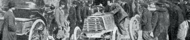 Niza-Marsella, 1900, Automovilismo Histórico