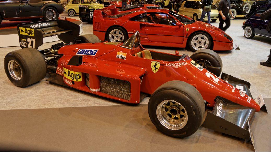 Ferrari 156/85, de 1985 en Retromòmile de parís en 2014, Foto: Thesupermat, Wikimedia Commons