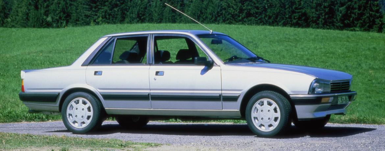 Peugeot 505 V6, 1986. Foto: Peugeot