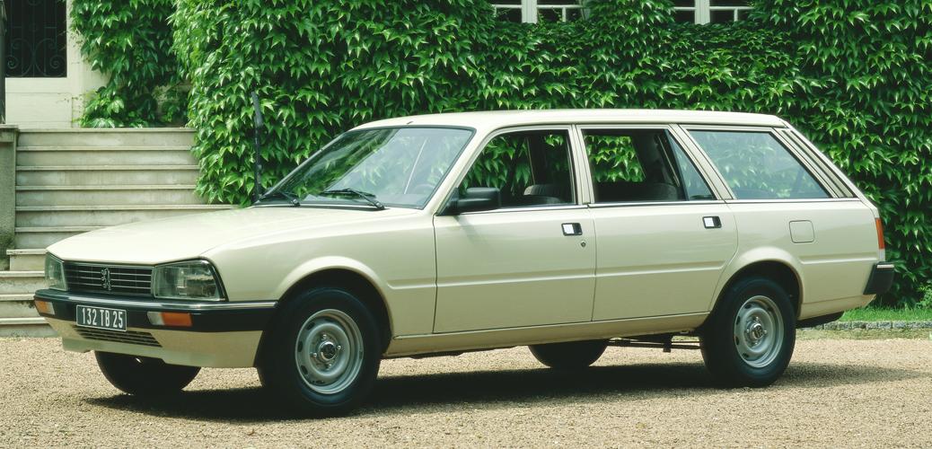 Peugeot 505 GTD, 1987, Foto: Peugeot