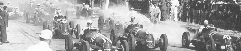 Grandes Premios 1946. V Grand Prix de Niza, salida