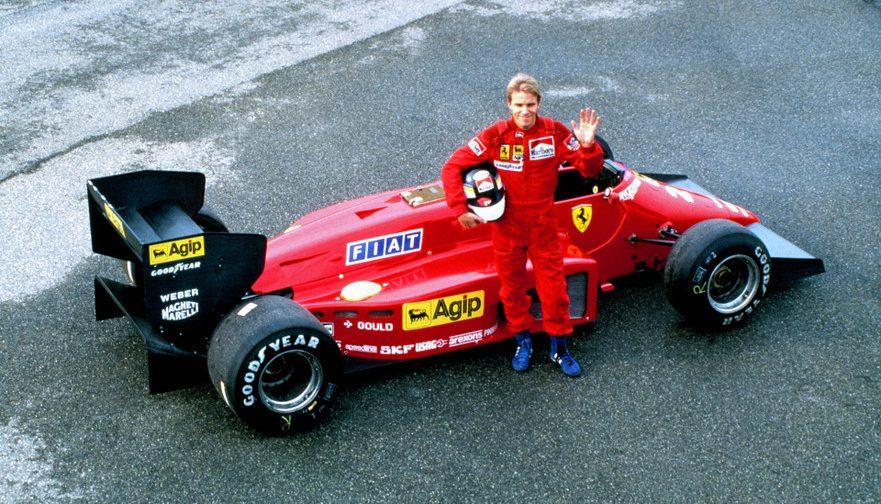 Stefan Johansson, Foto:Scuderia Ferrari