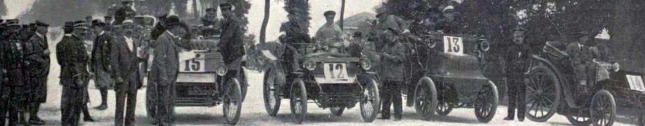 Salida de la I Course de Périgueux, 1898, Automovilismo Histórico