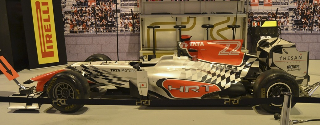 Hispania-Cosworth F111. Foto: Aaron Castellano - Madrid Motor Days, Diciembre de 2013