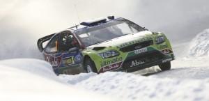 Ford Focus RS WRC 09. Hirvonen, Rally de Suecia 2010, Foto: Ford Motor Company