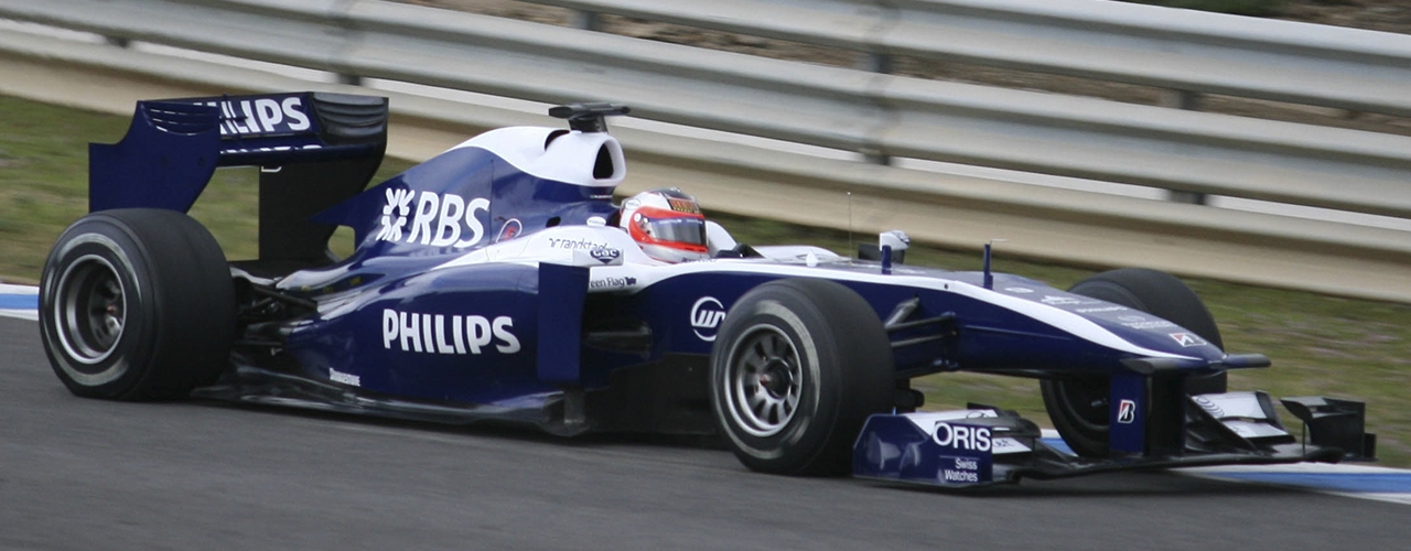 Williams-Cosworth FW32,, 2010, Foto: Slitz, Creative Commons 2.0