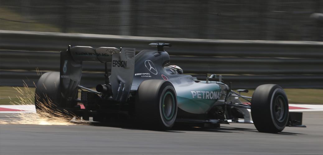 Mercedes F1 W06, Foto: Daimler