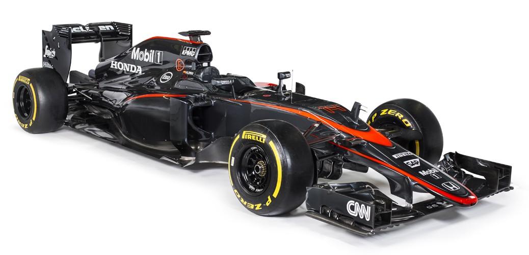 McLaren-Honda MP4-30, Foto: Charles Coates/McLaren