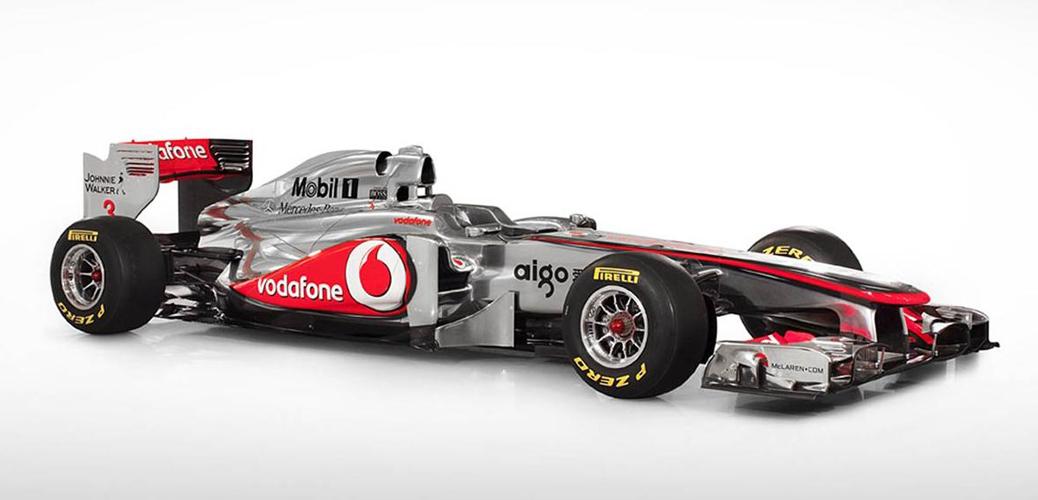 McLaren-Mercedes MP4-26, 2011, Foto oficial presentación McLaren.