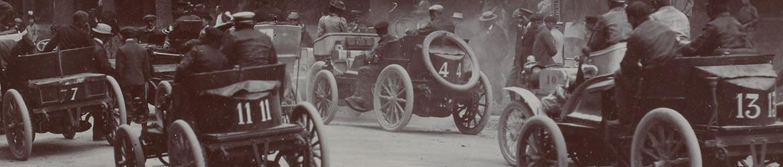 Salida I Paris-Ostende, 1899, Automovilismo histórico