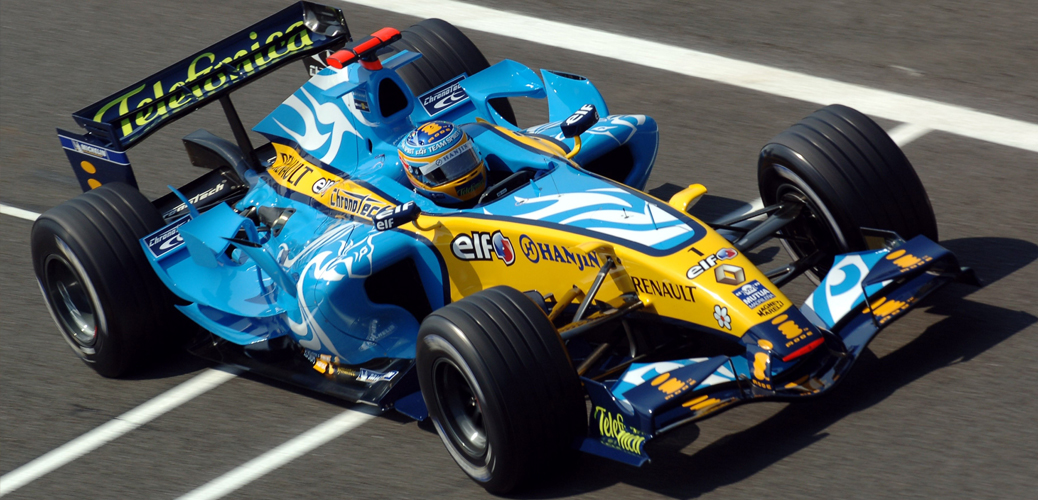 Fernando Alonso, Renault R26, 2006, Foto:Renault/DPPI Media