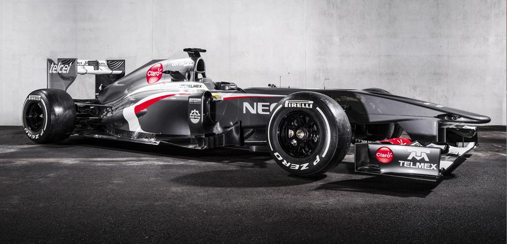 Sauber-Ferrari C32, Foto: Sauber Motorsport AG