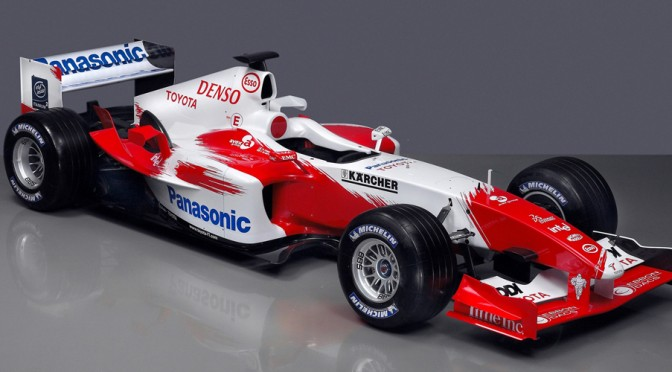 "<span class=""entry-title-primary"">Toyota TF104, 2004</span> <span class=""entry-subtitle"">Panasonic Toyota Racing - Temporada 2004</span>"