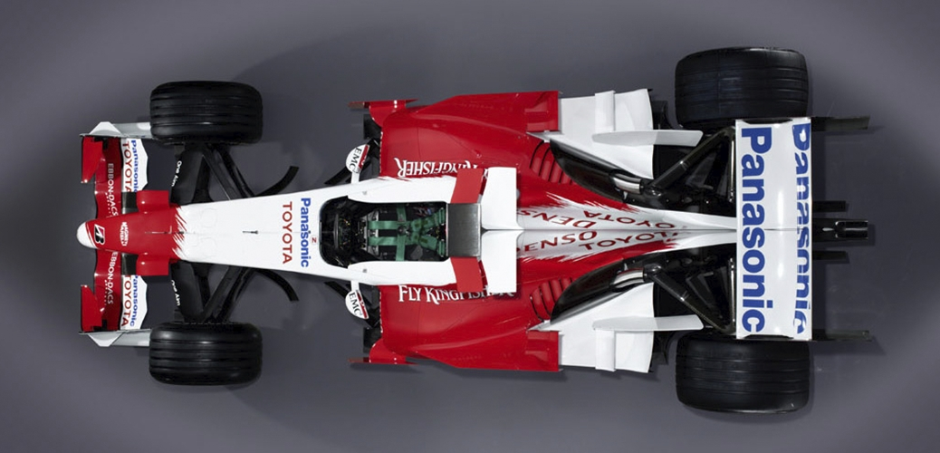 Presentación del Toyota TF107, Foto: Toyota