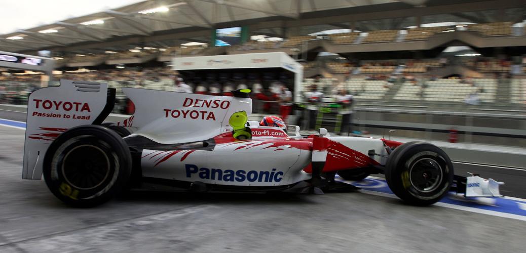 Toyota TF109, Foto: Toyota Motorsport GmbH