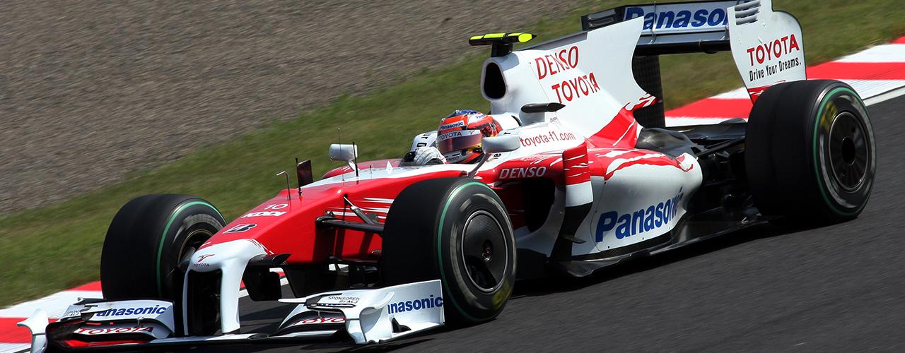 Gran Premio de Japón, Toyota TF109, Foto: Morio. Creative Commons Attribution-Share Alike 3.0 Unported