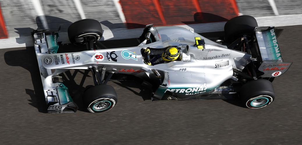 Carrera, GP de Gran Bretaña, Foto: Mercedes, Wolfgang Wilhelm