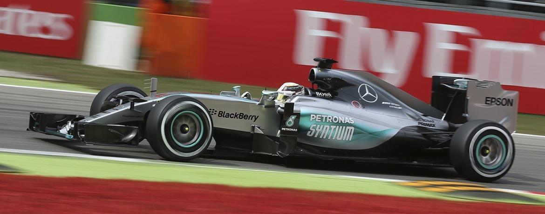 Mercedes F1 W06 Hybrid, Gran Premio de Italia, entrenamientos, Foto: Wolfgang Wilhelm, Mercedes GP