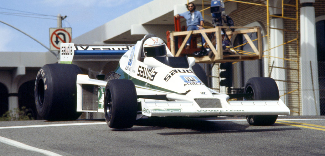 Williams FW06, Long Beach 1978, Foto: LAT Photographic/Williams F1