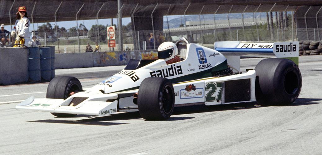 Williams FW06, Long Beach 1978, Foto: LAT Photographic/Williams F1