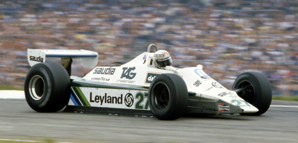 Williams-Ford FW07B, Alemania 1980. Foto: LAT Photographic/Williams F1