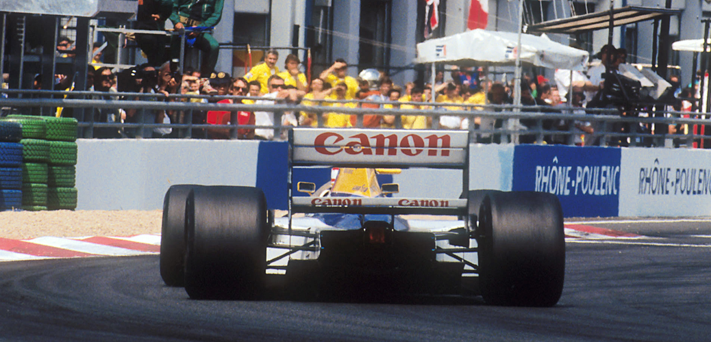 Williams FW14B, Francia 1992, Foto: LAT Photographic/Williams F1