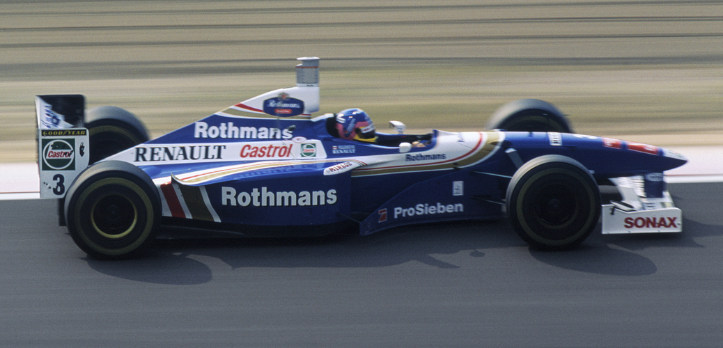 Williams-Renault FW19, Japón 1997. Foto: LAT Photographic/Williams F1