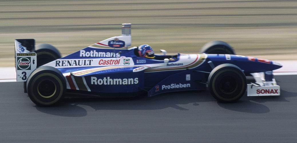 Williams-Renault FW19, Japón 1997. Foto: LAT Photographic/Williams F1