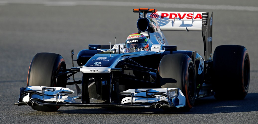 Williams-Renault FW35, Foto: Renault / DPPI