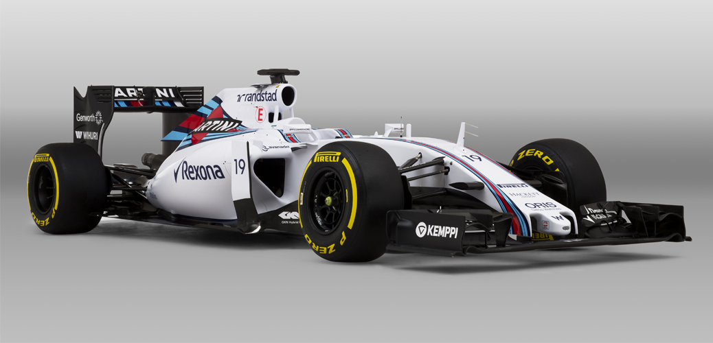 Williams-Mercedes FW37, Foto: Williams F1 Team