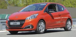 Peugeot 208HDI bate récord de consumo en diésel de serie. Peugeot