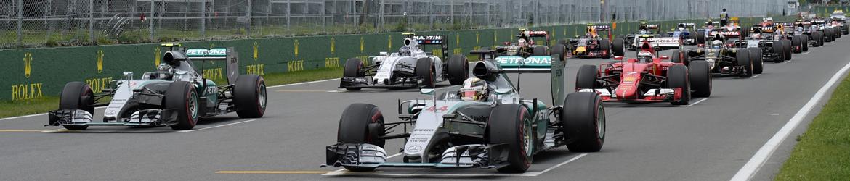 Salida Gran Premio de Canadá, Foto: Mercedes