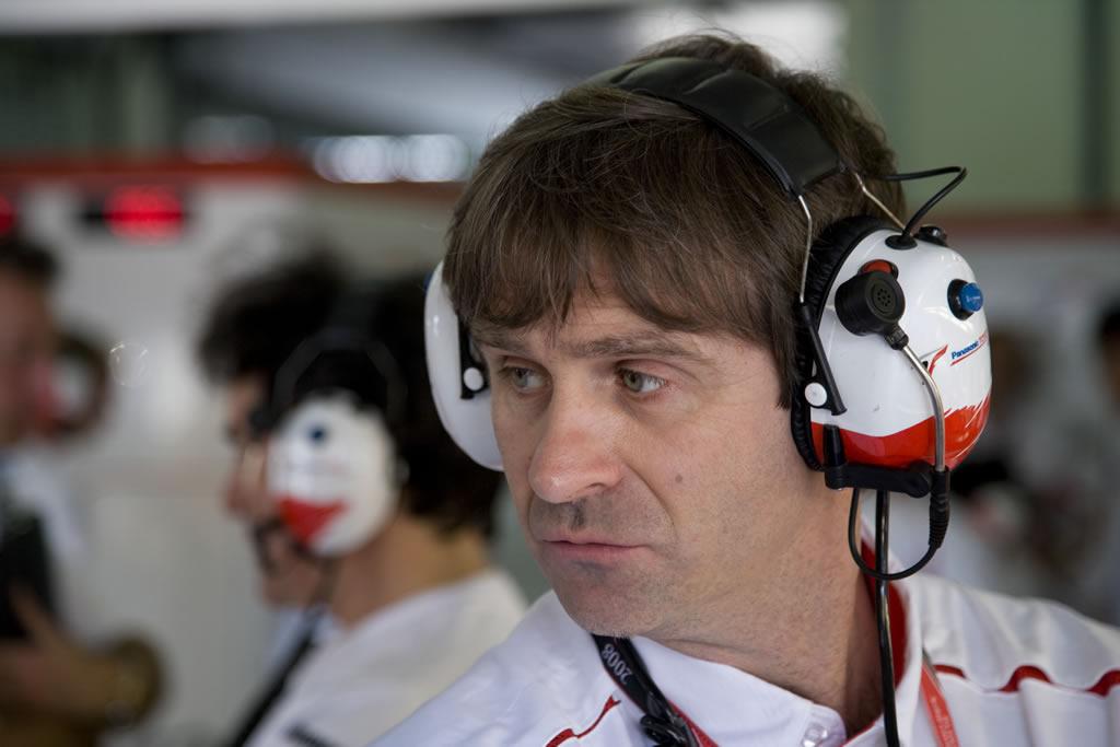 Foto: Pascal Vasselon. Toyota Motorsport.