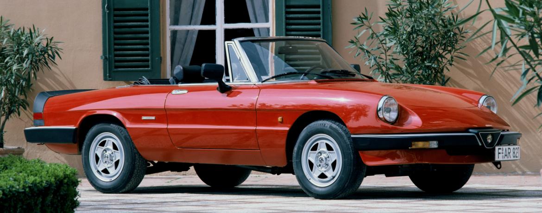 Alfa Romeo Spider, 1983-1989. Foto: Alfa Romeo